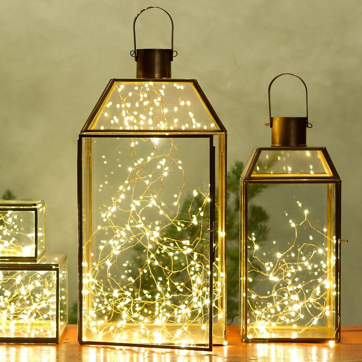 Cette décoration facile est idéale pour les nuits d'été dans votre jardin ou votre balcon.