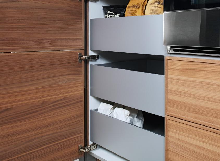 Une cuisine bien organisée et fonctionnelle – astuces de rangement spécial Ikea