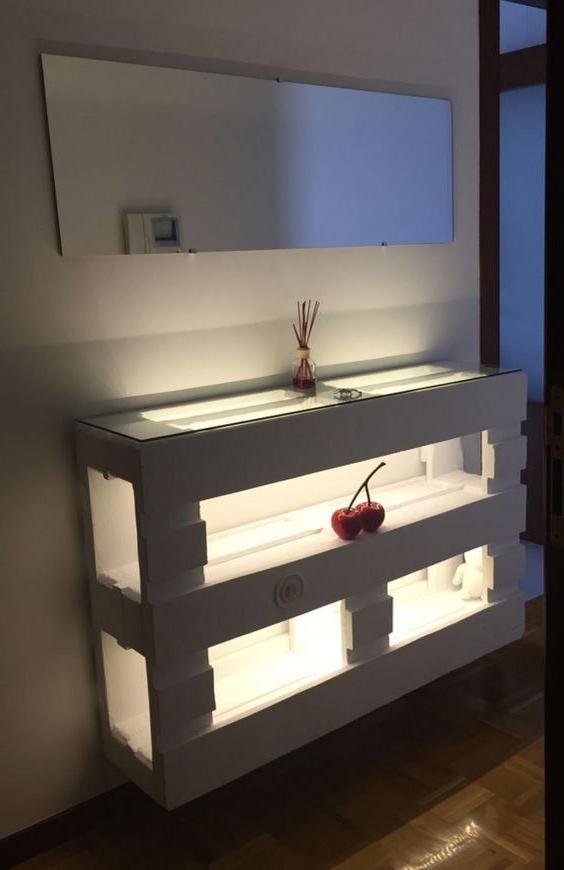Idée créative de meuble de palette comme étagère