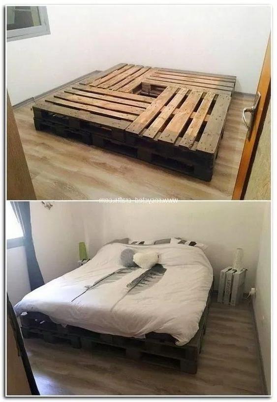 Fais le toi même meuble en palette - un lis