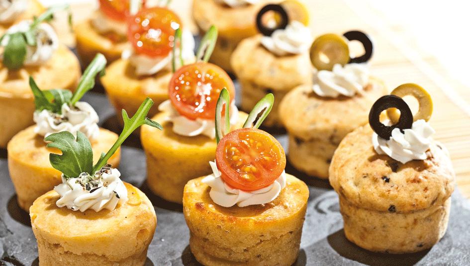 Muffins aux courgettes -recettes de lunchbox irrésistibles au Thermomix -