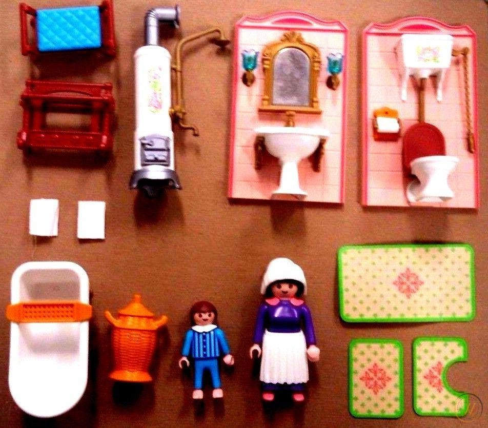 Tous les accessoires pour la salle de bain victorienne