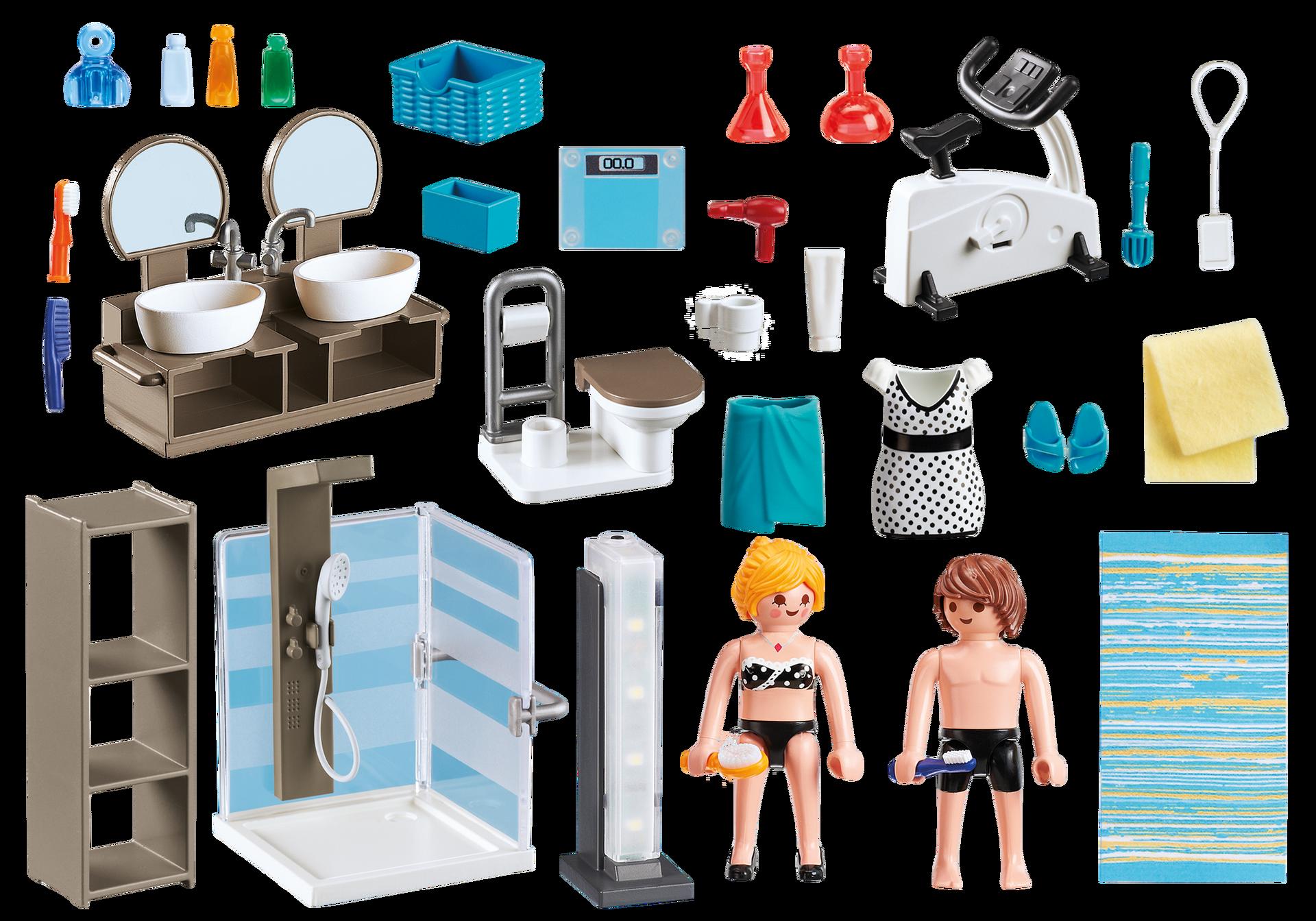Accessoires pour la salle de bain Playmobil 9268