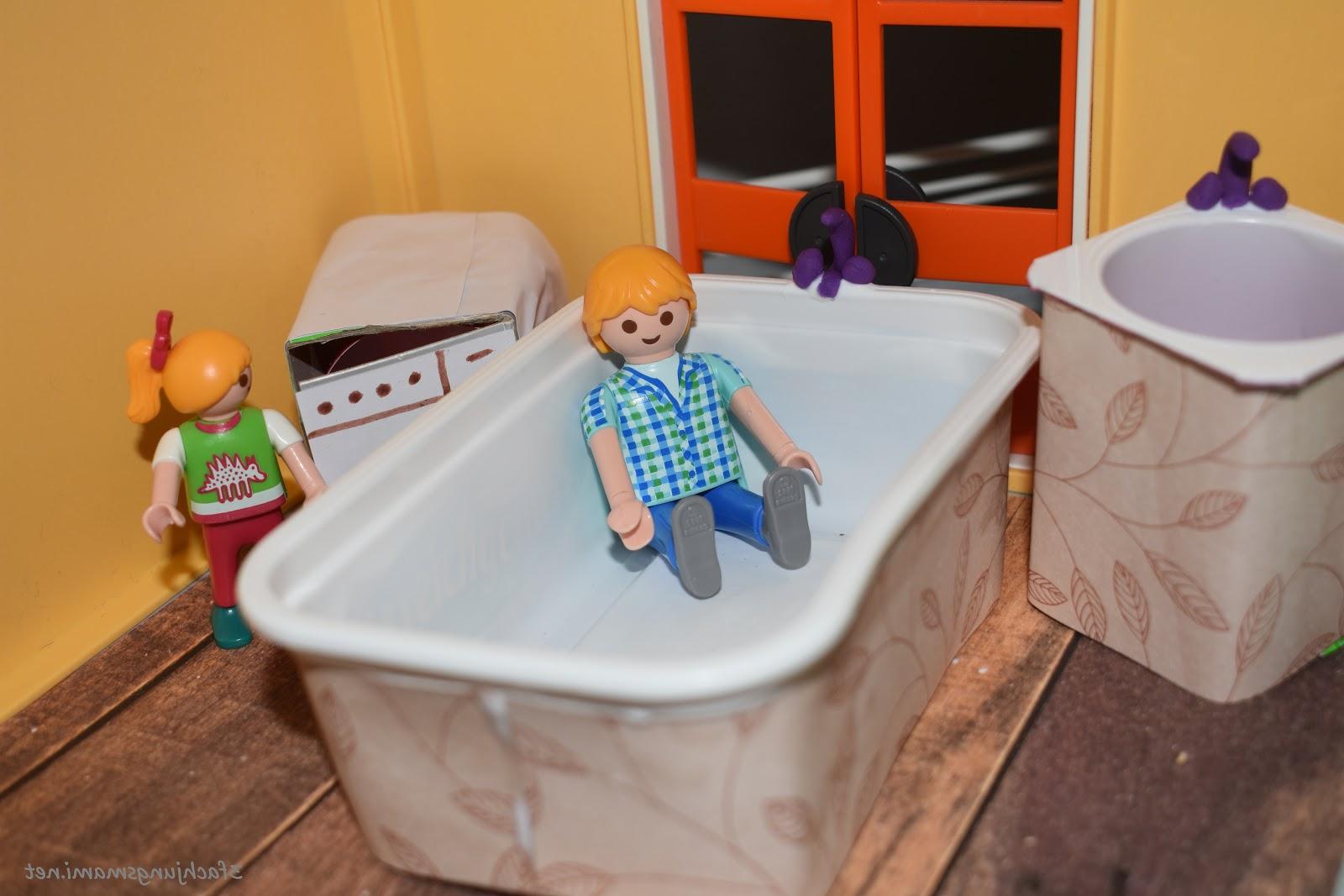 Pour les enfants c'est un vrai plaisir de se baigner dans la baignoire