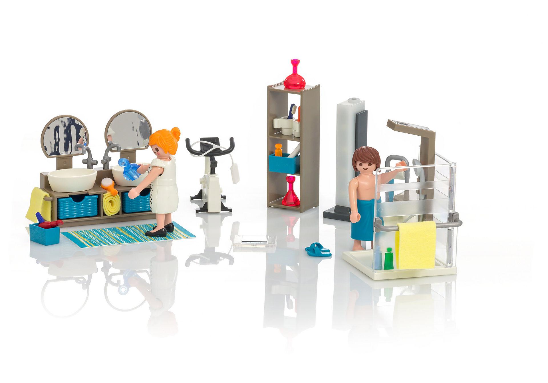 La salle de bain moderne Playmobil est un rêve devenu réalité