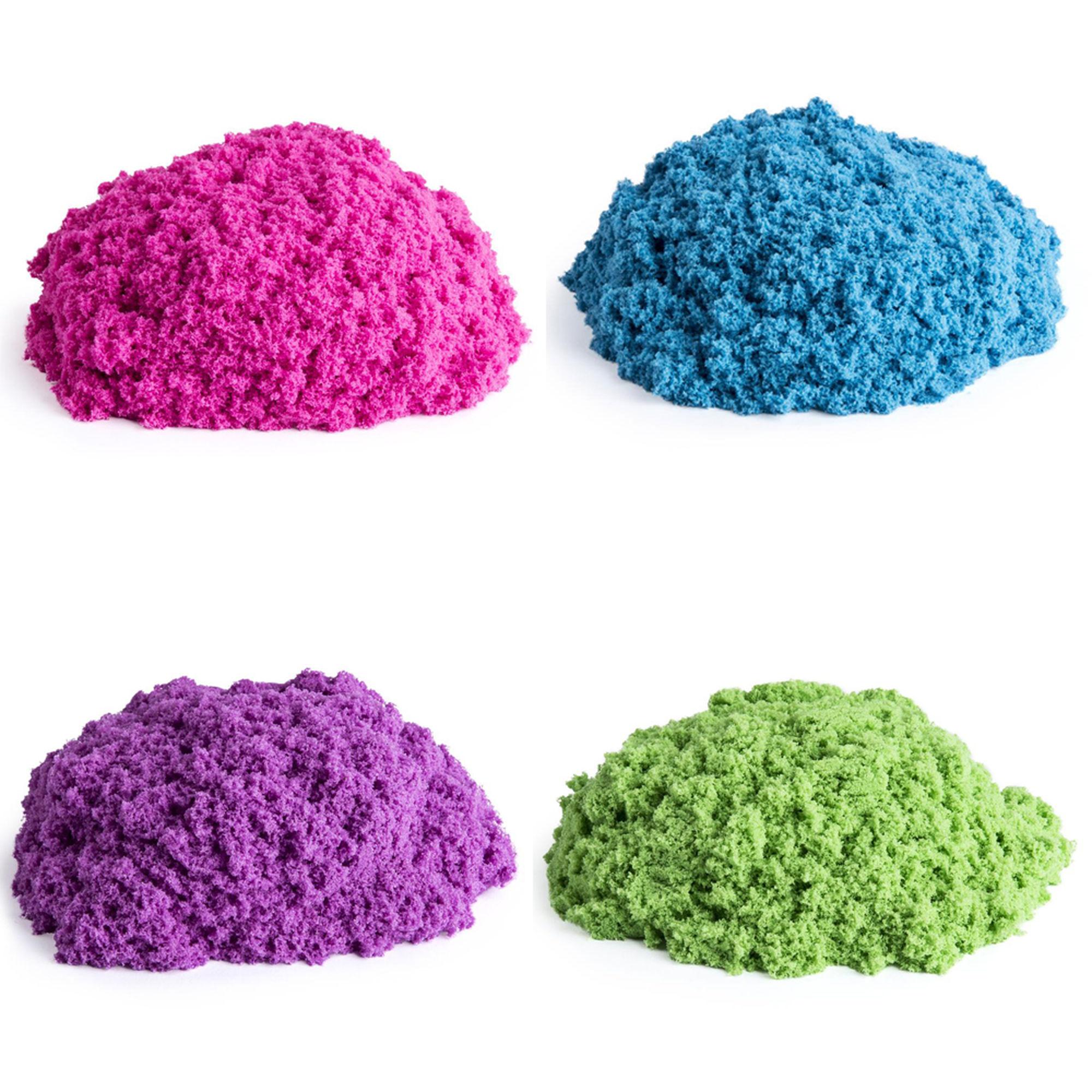 Vous pouvez faire différentes couleurs de sable