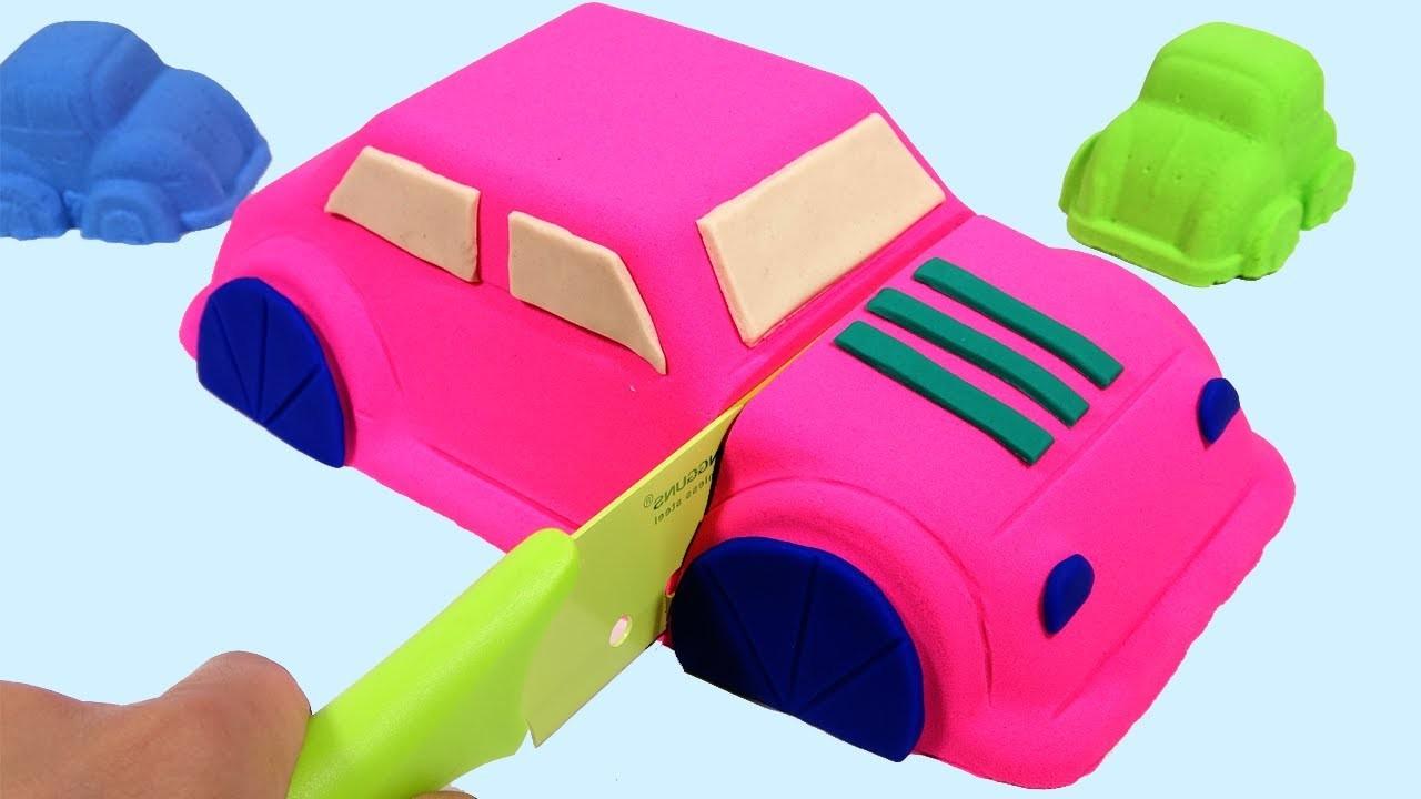 Vous pouvez couper la voiture de sable sans effort