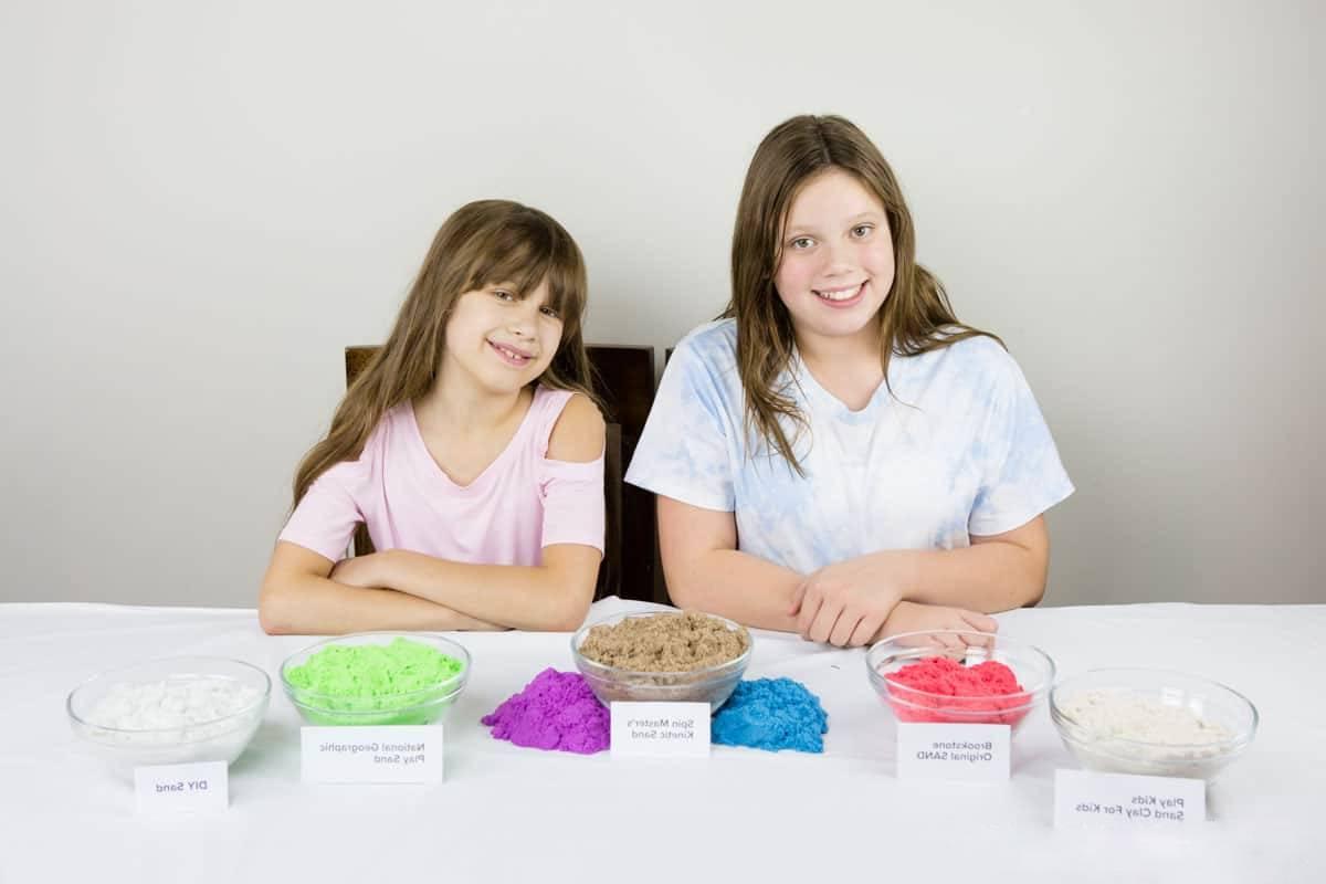 Faites plaisir à vos enfants avec cette recette de sable magique fait maison facile