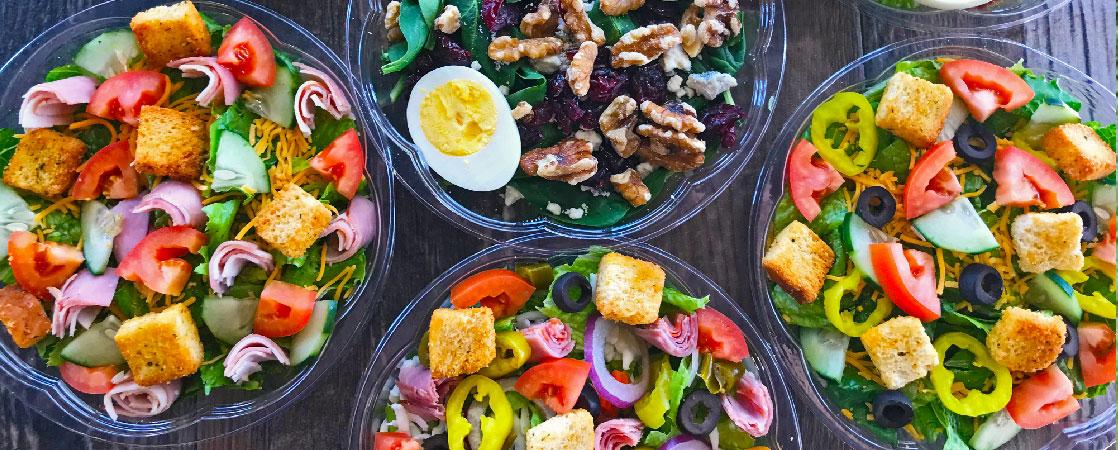 3 idées ( et 1 Bonus) de salades composées