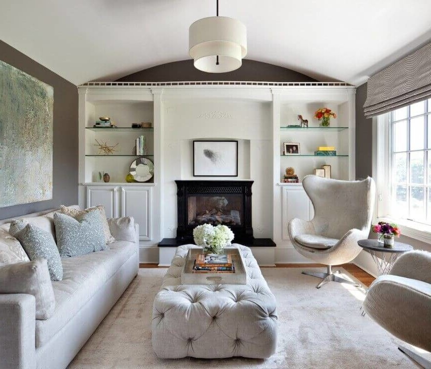 Une pièce comme celle-ci allie élégance et confort et réunit le meilleur des deux mondes.