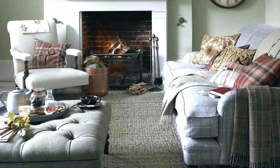 Ce salon cosy est tout ce dont vous avez besoin par temps sombre et pluvieux.