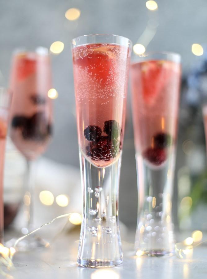 2. Moët & Chandon: arômes fruités et sucrés de pomme et de citron cuits.