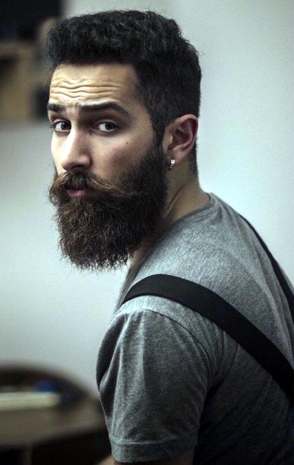 Il est très important d'adapter votre barbe à la forme de votre visage.