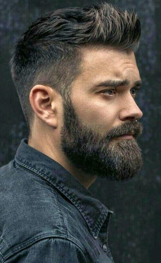 La barbe bien soignée en dit long sur son propriétaire.