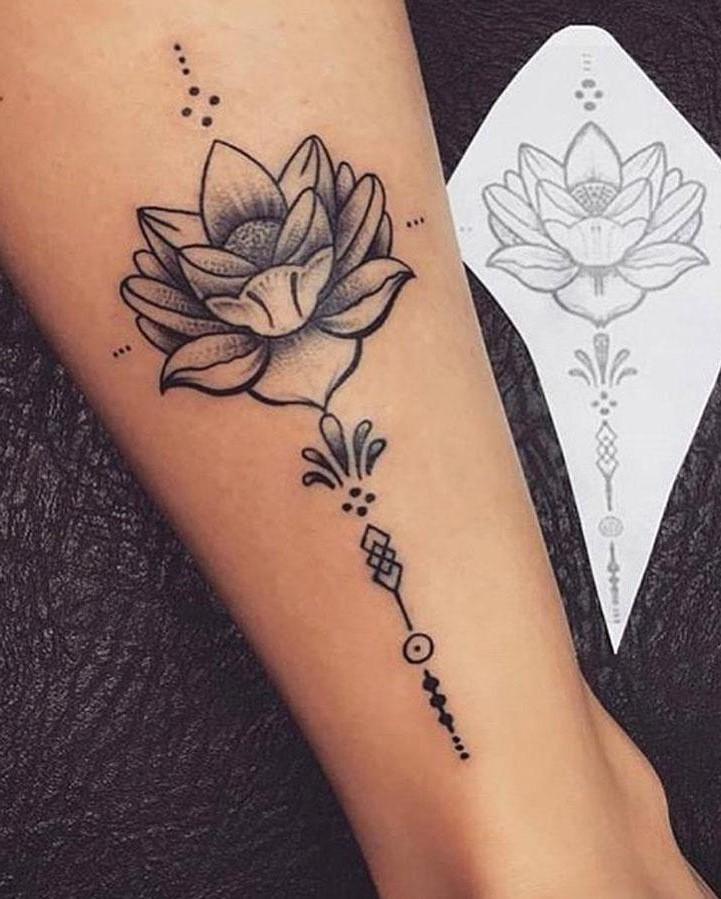 Juste pour être sûr dans votre décision, essayez un tatouage semi-permanent pour voir si vous l'aimerez vraiment.