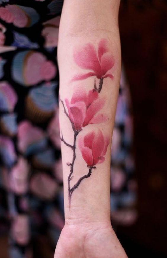 Les fleurs de cerisier sont un symbole d'amour dans la culture chinoise.