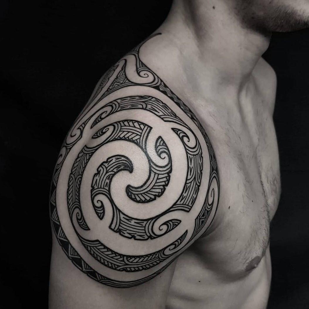 Une simple spirale représente le début de quelque chose de nouveau.