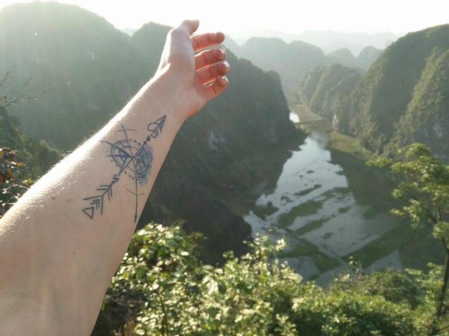 Comme la boussole pointe toujours vers le nord, de nombreuses personnes y voient un signe d'inspiration.