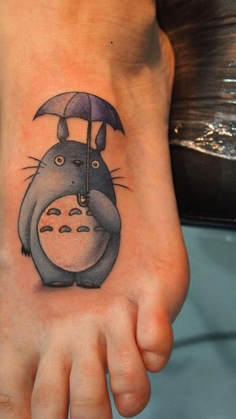 Tatouer avec ce tattoo original de Totoro