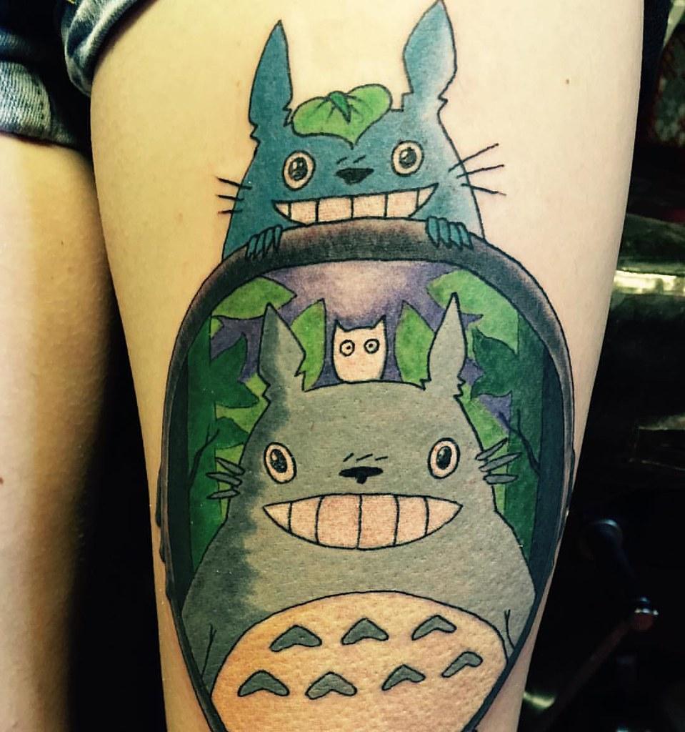 Totoro tattoo- une idée incroyable