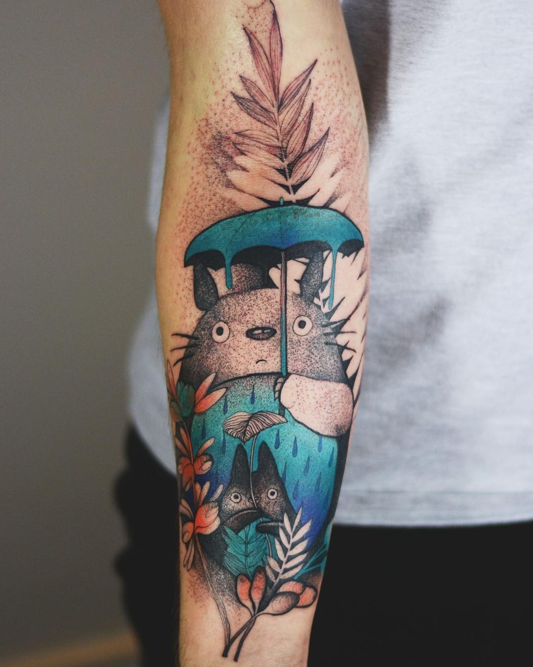 Exprimez vos sentiments avec ce tattoo triste