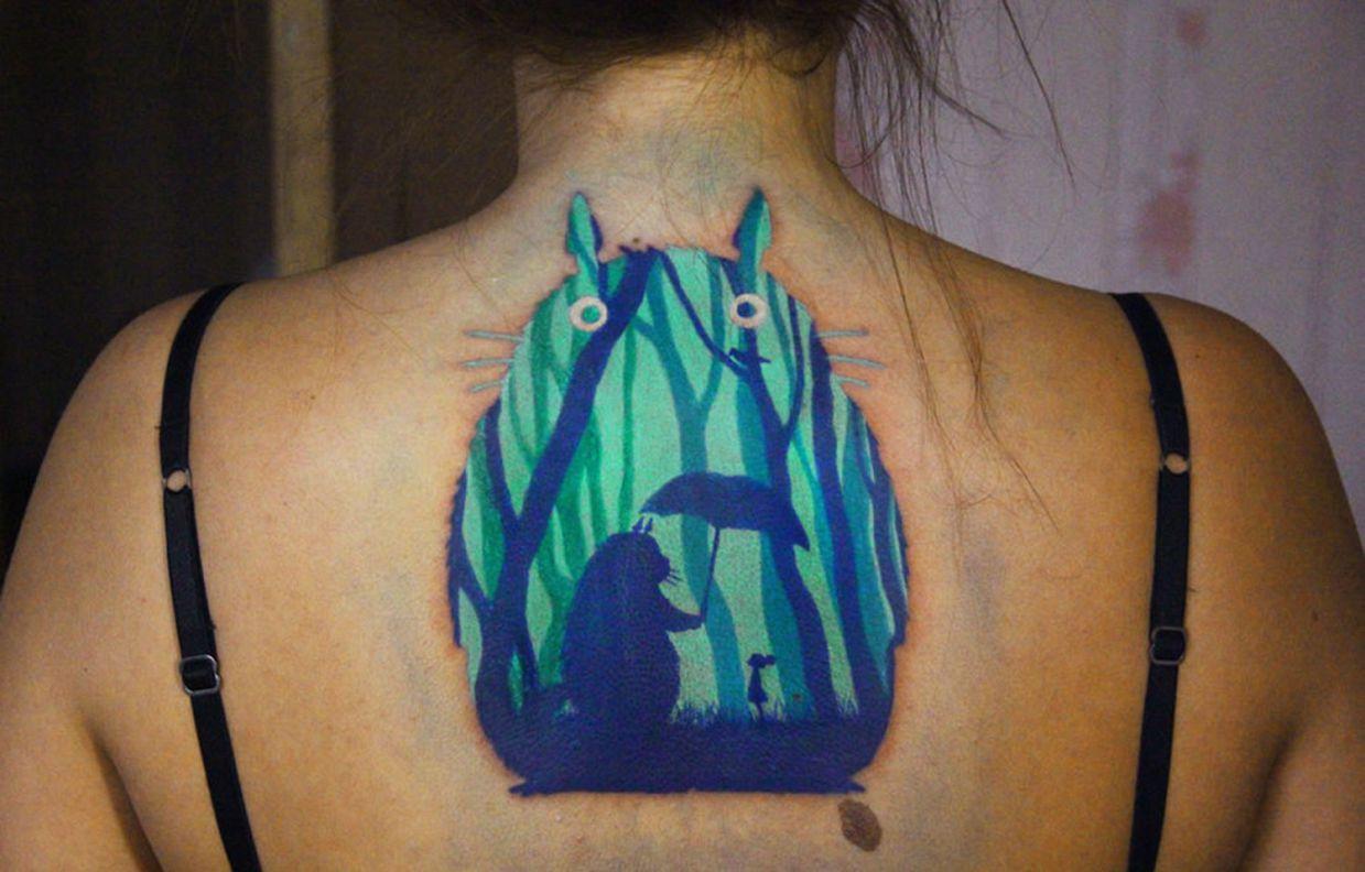 Totoro tattoo-un tatouage avec du sens