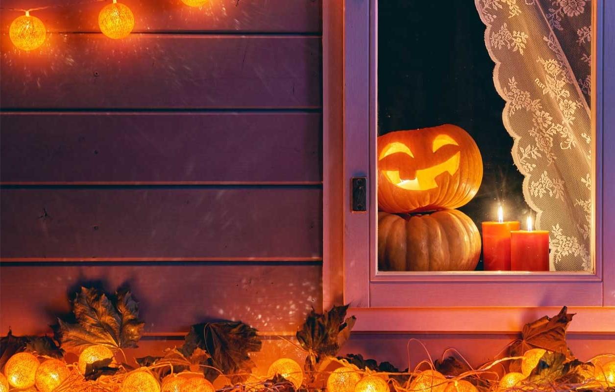 Les décorations d'Halloween en salle sont un excellent moyen de donner à la fête une impression plus authentique.