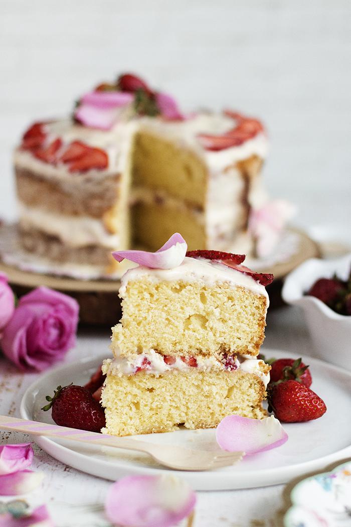 La meilleure recette de gâteau d'anniversaire à la vanille