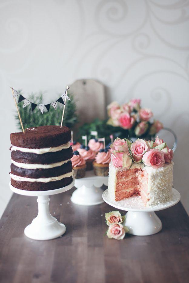 Un gâteau nu au chocolat?
