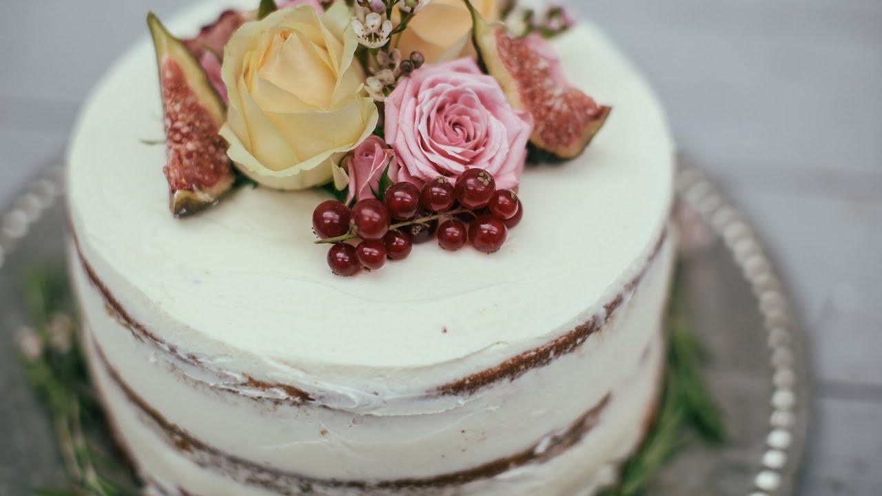 Un gâteau nu - pourquoi pas?