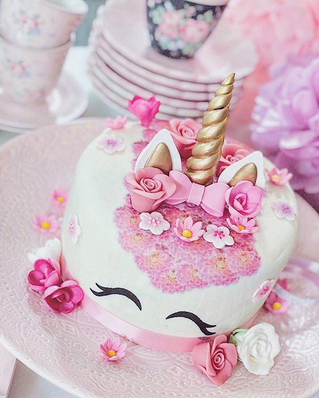 Gâteau d'anniversaire licorne facile à préparer