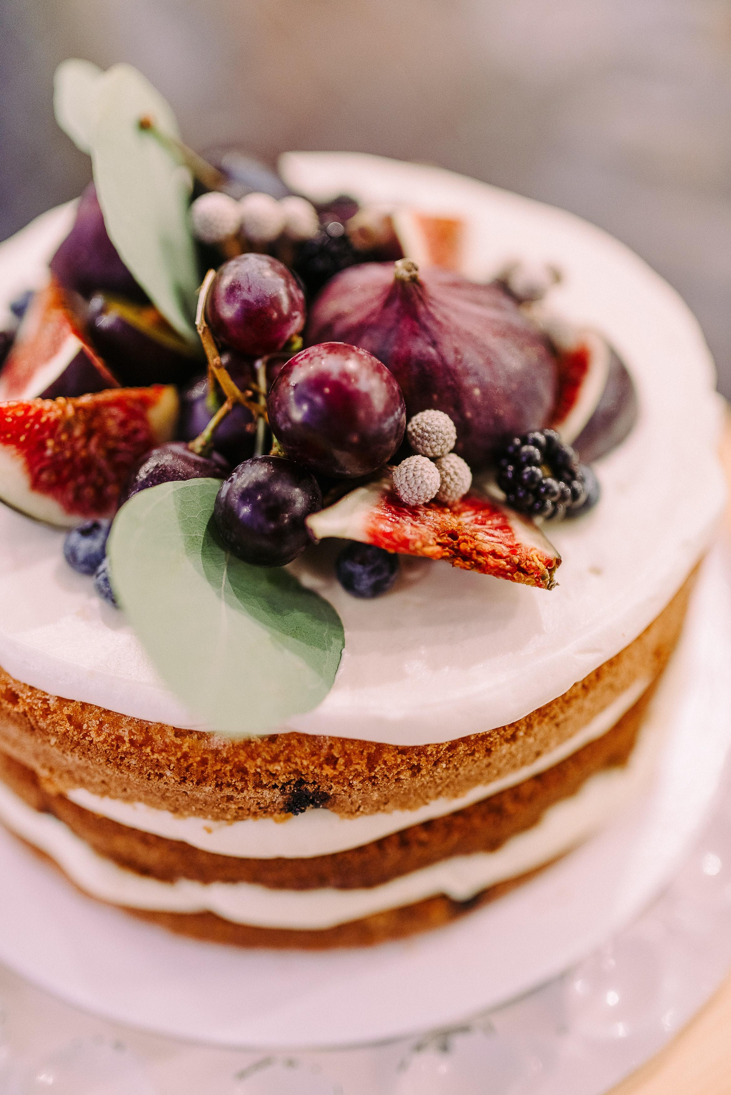 Sublimes decorations avec des fruits pour votre gâteau d'anniversaire