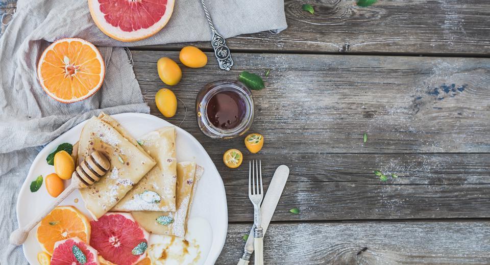 Une recette super facile à faire de crêpes healthy et gourmandes au Thermomix