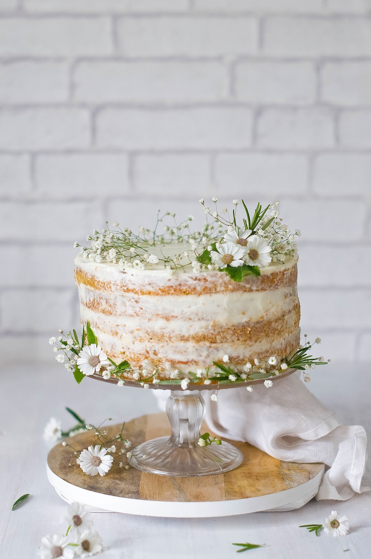 Le gâteau nu – une tendance minimaliste très populaire!