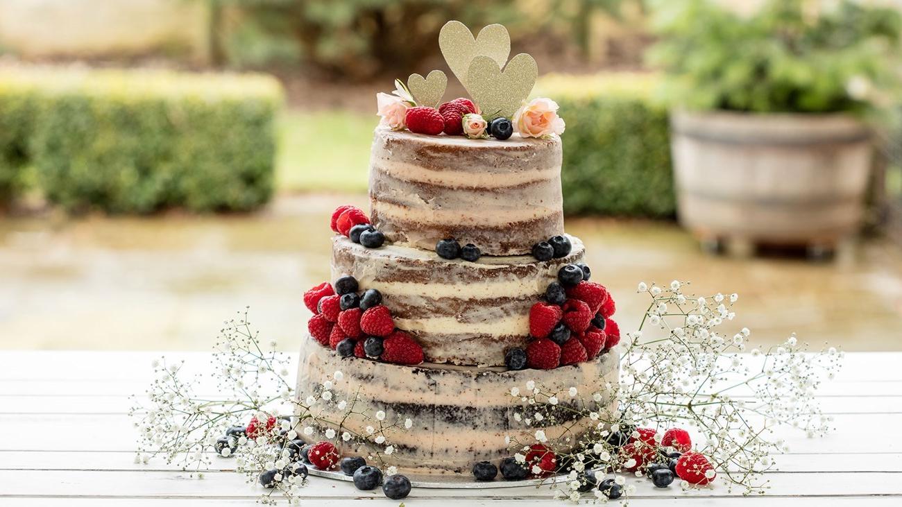 La tendance des gâteaux en 2019 - le gâteau nu!