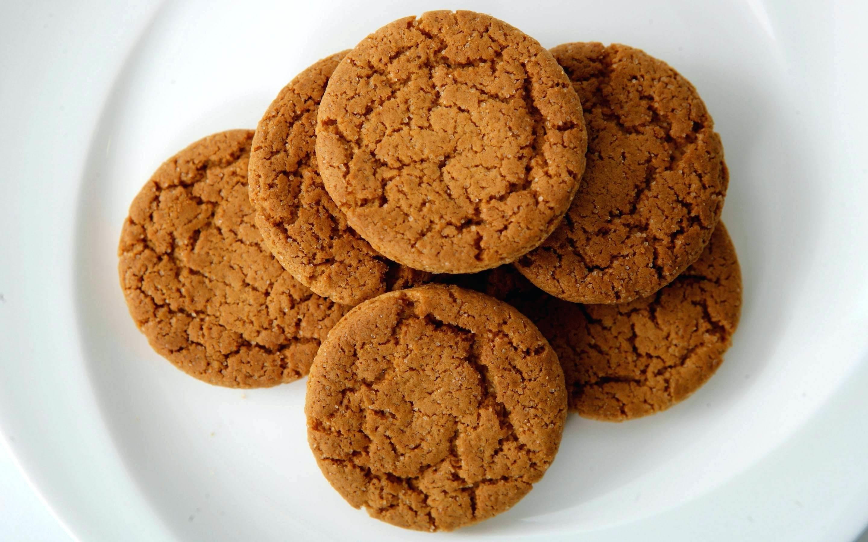 Recette de dessert saine- buiscuits au gingembre