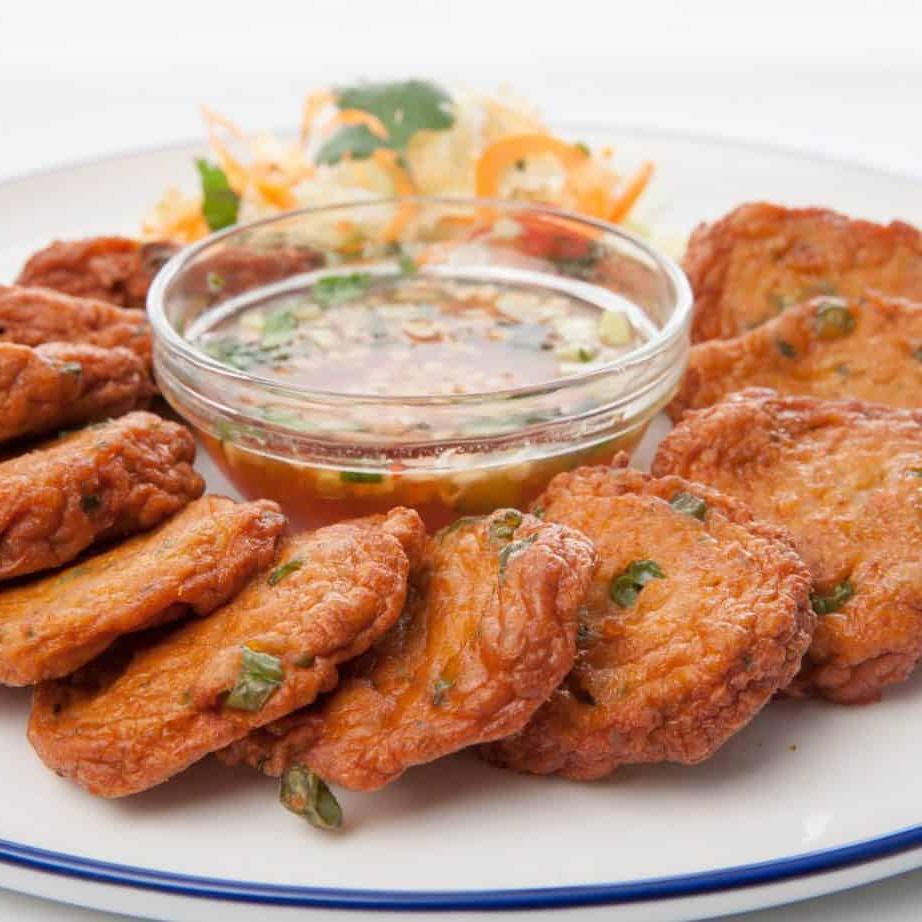Croquettes de poisson thaï