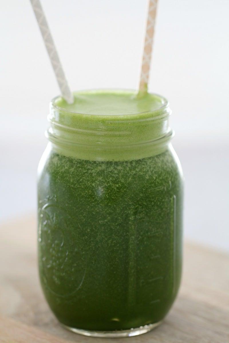Recette thermomix de smoothie vert
