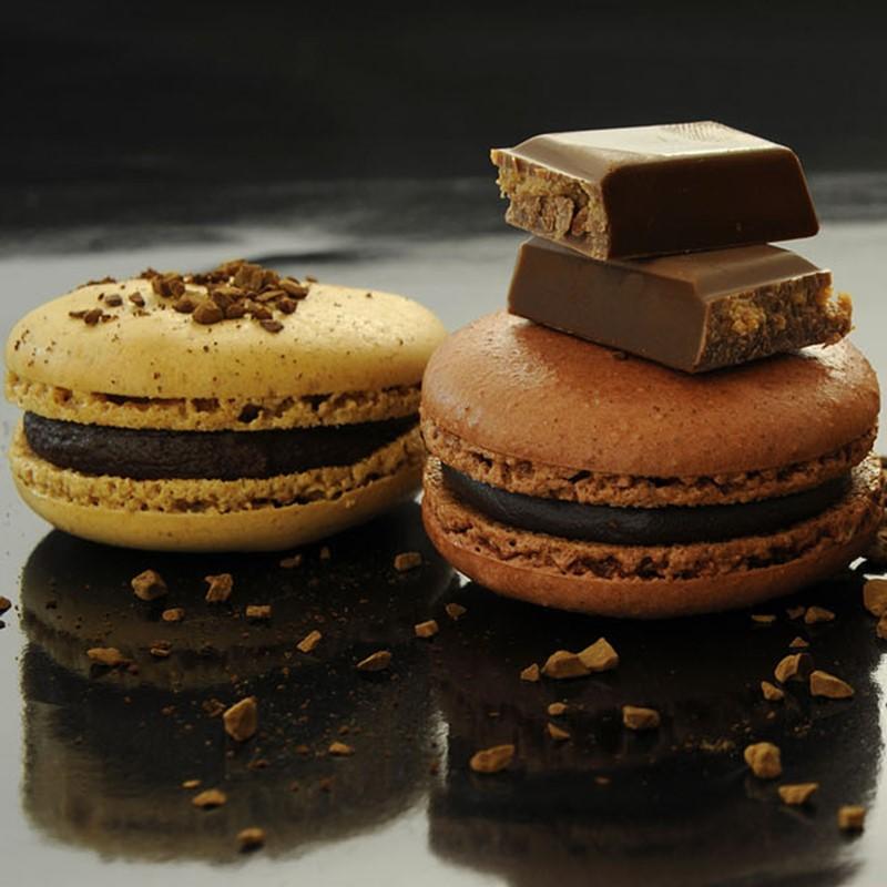 2015 a mis l'accent sur le 'retour du chocolat blanc'.