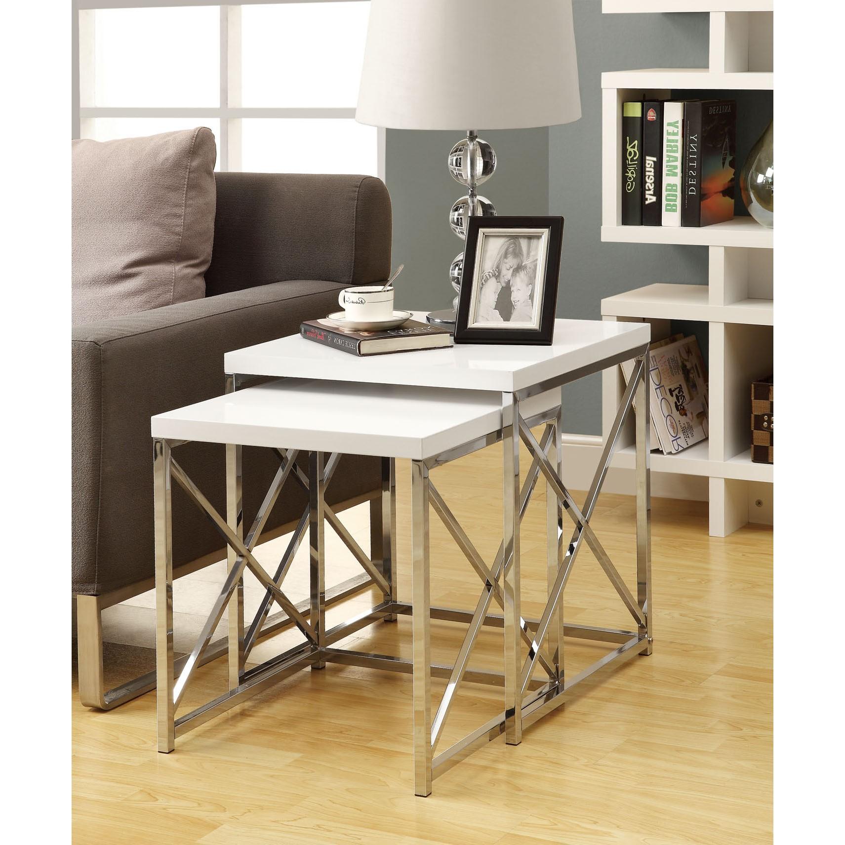 Utilisez la table gigogne de manière créative pour ajouter un style unique à votre intérieur