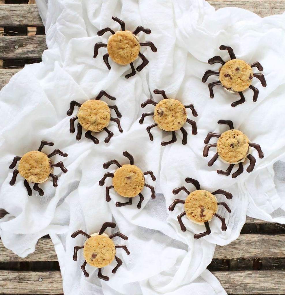 Vos enfants vont adorer ces délicieux biscuits d'araignée.