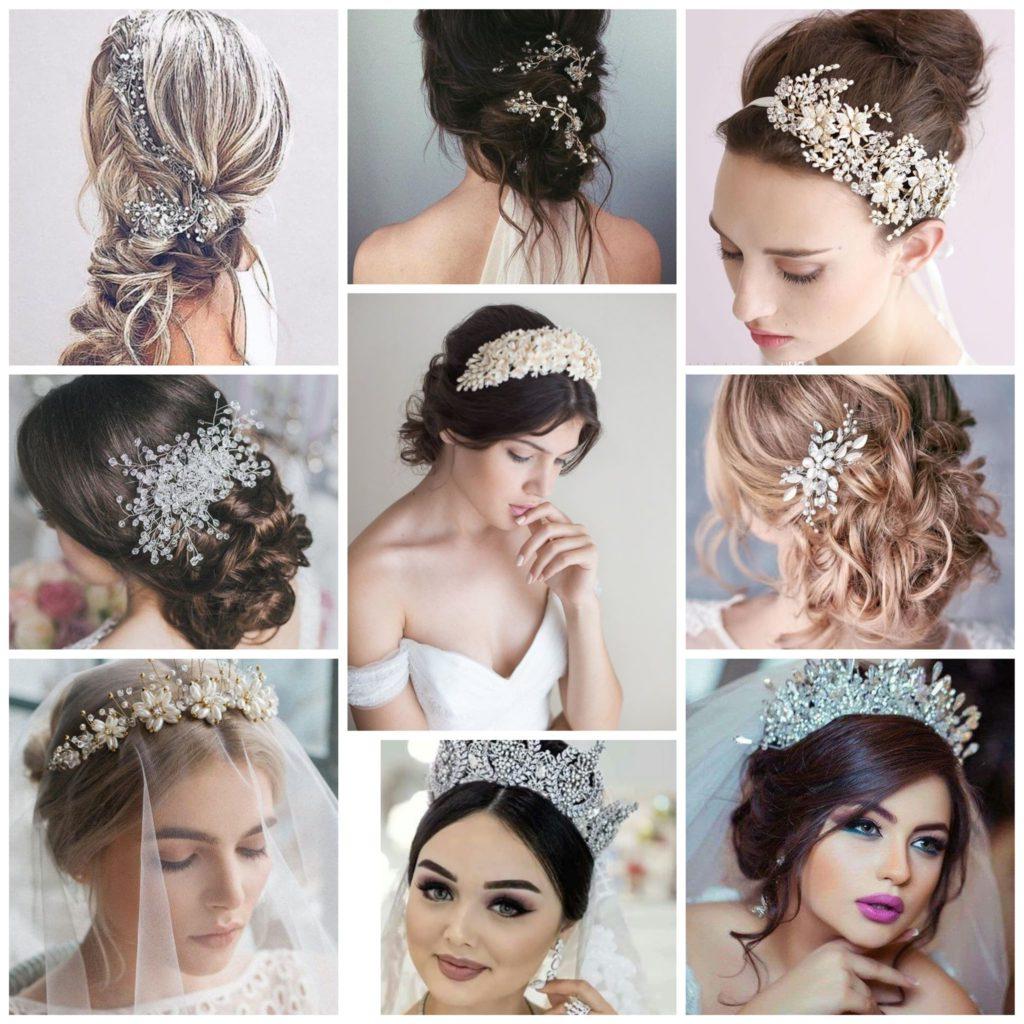 Neuf exemples élégants de coiffures de mariage de cheveux longs