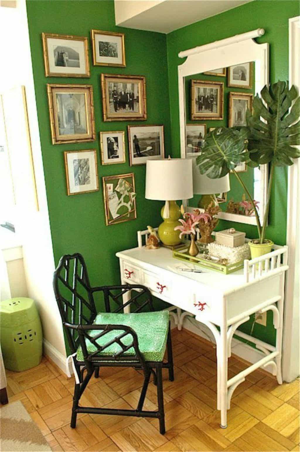 Comment décorer le bureau et l'espace de travail? Avec vos couleurs préférées!