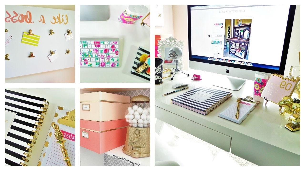Il est important de savoir comment décorer le bureau, mais il est plus important de savoir comment être productifs à la maison.