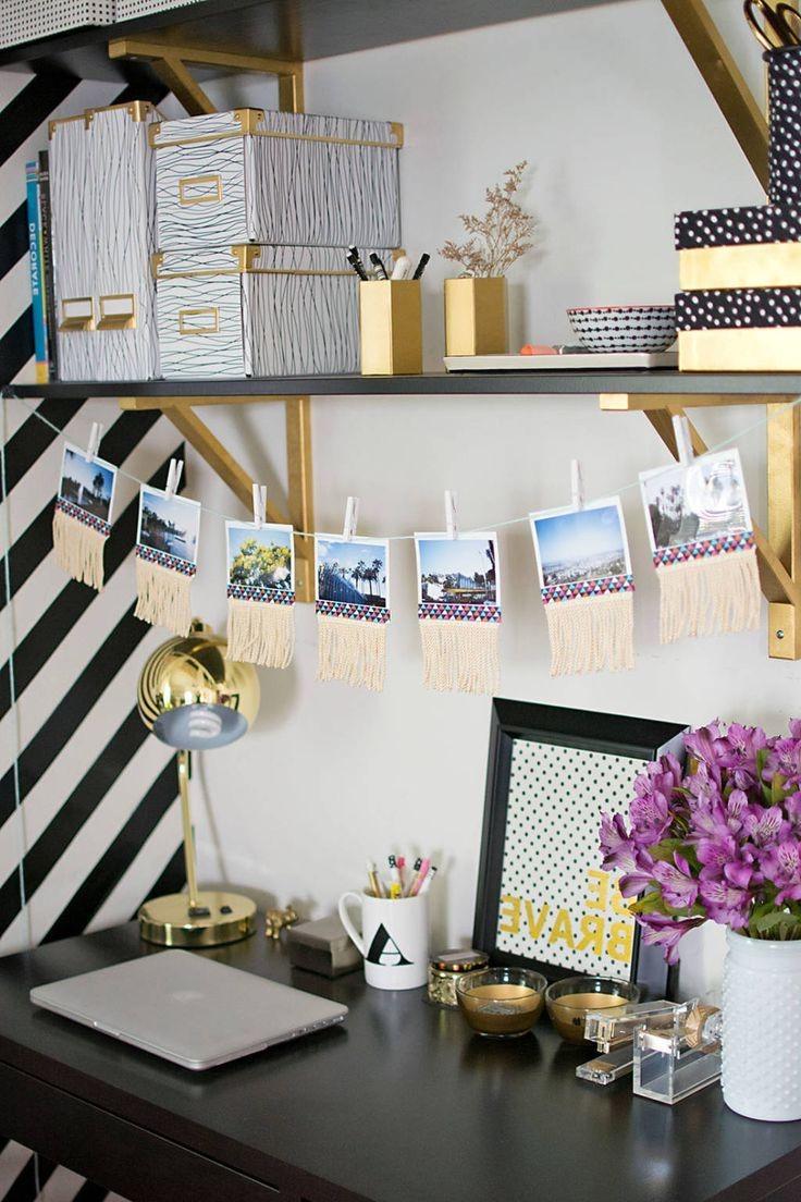 En bref, décorez, organisez et concentrez-vous sur le travail!