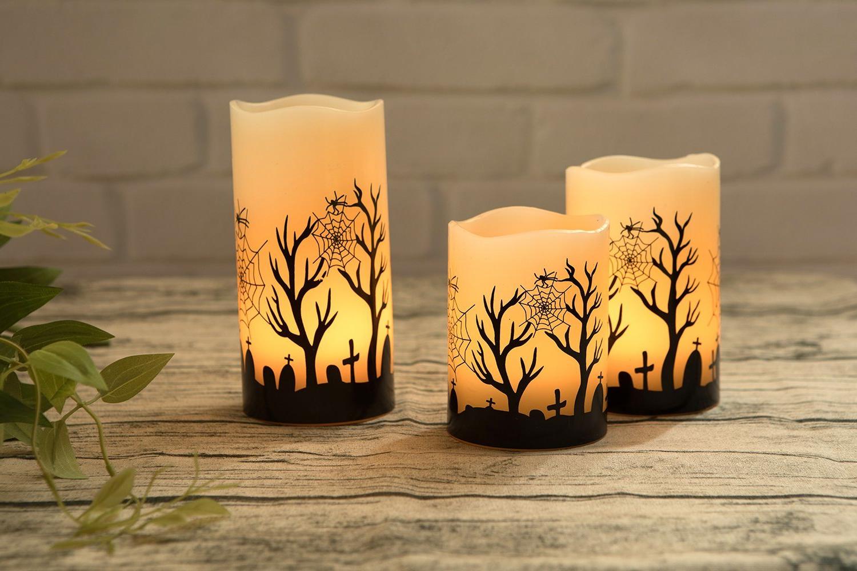 Fabriquer des bougies personnalisées - idée de bricolage pour l'Halloween