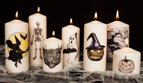 Comment faire des bougies personnalisées pour Halloween