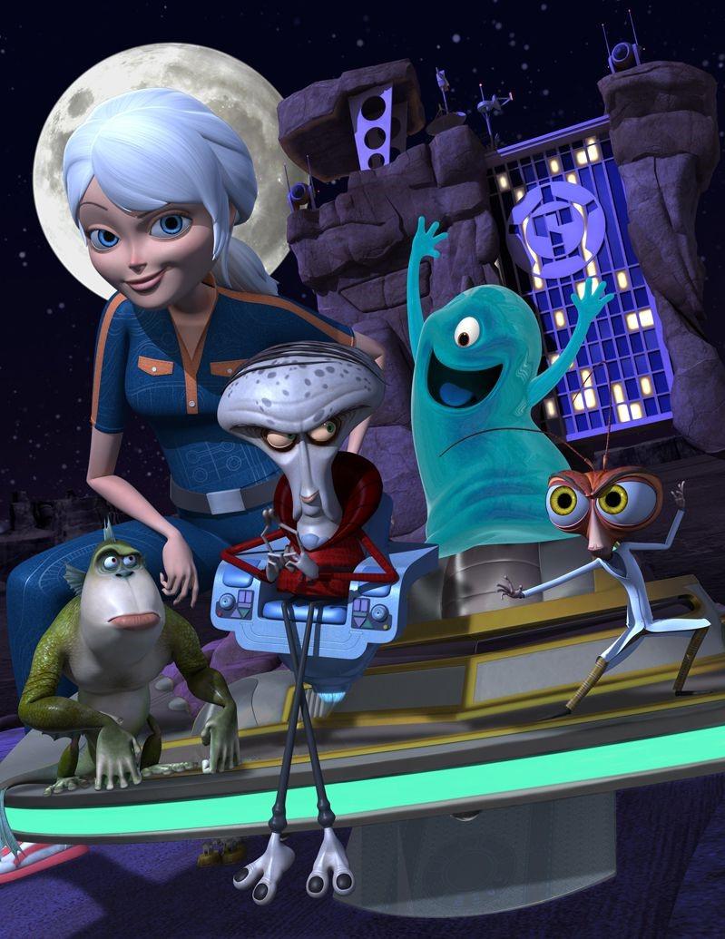 Monstres contre Aliens.