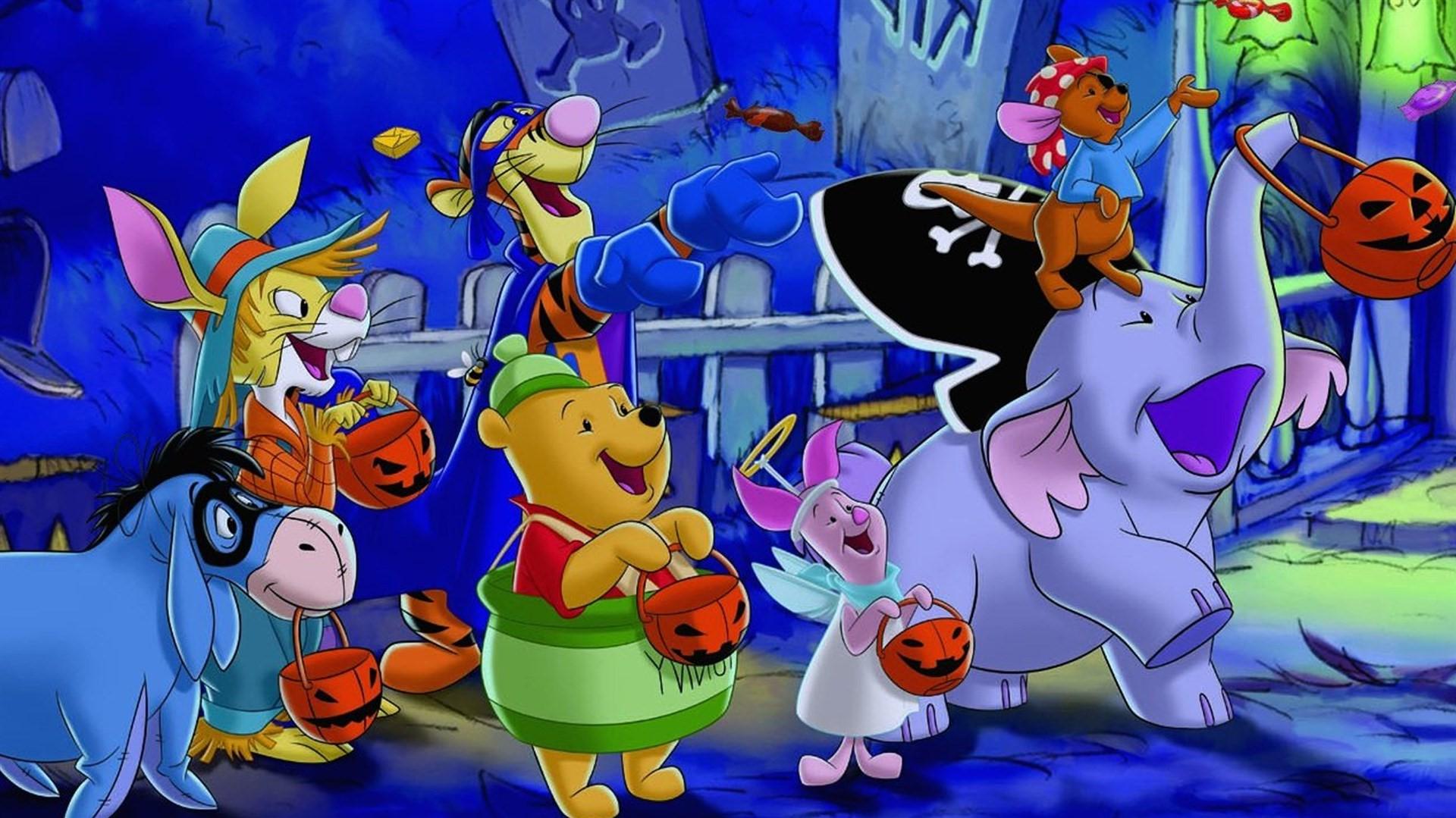 Winnie l'ourson : Lumpy fête Halloween.