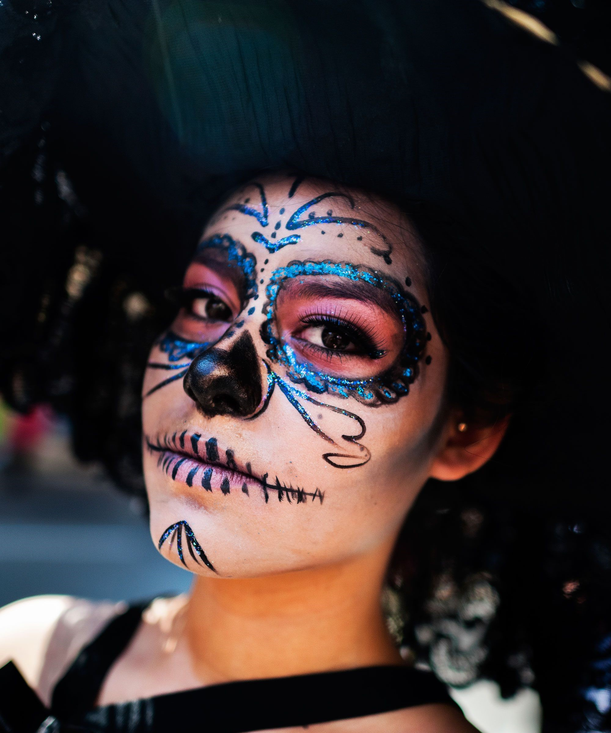 The Calavera Catrina is often called the Great Lady of Death of Mexico.